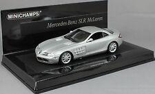 Minichamps Mercedes-Benz SLR McLaren in Matt Silver 2004 436033021  Ltd 2010