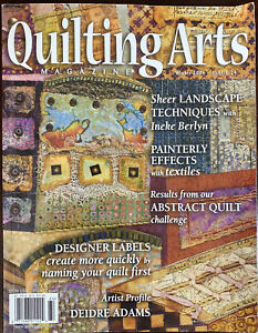 Quilting Arts Magazine - Winter 2006, Issue 24