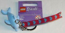 LEGO Friends 851576 Blue Dolphin bag charm key chain keychain