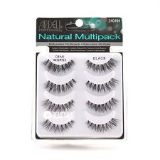 4 Pairs Ardell DEMI WISPIES Natural False Eyelashes Fake Lashes - MULTIPACK