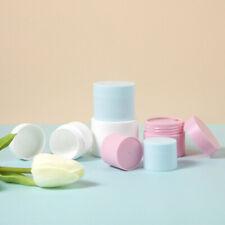 Travel PP Facial Cream Jar Cosmetic Plastic Box Packaging Refillable Bottle
