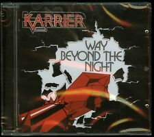 Karrier Way Beyond The Night CD new 2017 reissue Cult Metal Classics