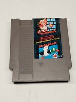 Super Mario Brothers & Duck Hunt - NES Nintendo Game