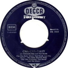 ♫ Cha-Cha-Party mit Edmundo Ros und Ted Heath - DE - Decca DX 2055 - 1959 ♫