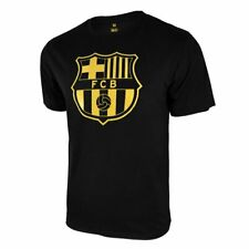 Icon Sports Men FC Barcelona Officially Licensed Soccer T-Shirt Cotton Tee -01