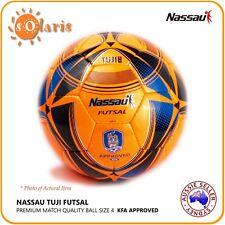 Nassau TUJI Size 4 Futsal Ball Low Bounce Premium Indoor Soccer Ball  Football 432236a45e805