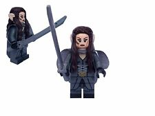 ARWEN MINIFIGURE IN RIVENDELL TRAVEL OUTFIT HOBBIT LORD OF THE RINGS LOTR