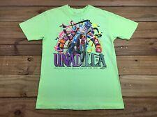 Vtg 1990 Unadilla Motocross Grand Prix Pro Nationals Neon Shirt Xl Dirt Shirts