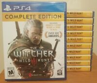 The Witcher 3 Wild Hunt [ Complete Edition ] PLAYSTATION 4 PS4- BRAND NEW SEALED
