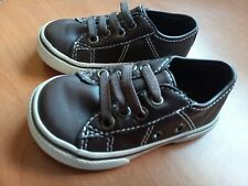 Children's Place Boy's Coffee Brown Shoes SIZE 5 Toddlers