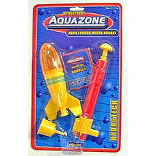 WATER ROCKET Set Space Toy Liquid air pressure/H2O powered plastic pump Outdoor