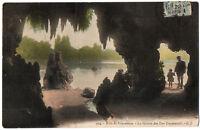 CPA 75 - PARIS - 924. Bois de Vincennes. La Grotte des Iles Daumesnil - G. I.