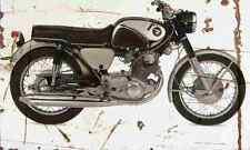 Honda CB77 1966 Aged Vintage SIGN A3 LARGE Retro