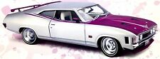 37564 FORD XA FALCON COUPE CUSTOM CYBER BERRY 1:18 DIE CAST SCALE MODEL CAR