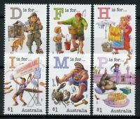 Australia Cultures Stamps 2019 MNH Fair Dinkum Alphabet Pt 5 Birds 6v Set