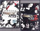 Dvd **SMOKIN' ACES 1+ 2~ASSASSINS' BALL** Affleck Garcia Liotta nuovo 2007-2010