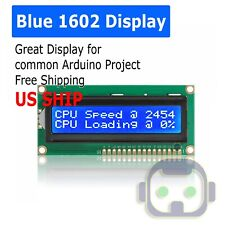 LCD 1602 Blue screen with backlight display 1602A 5v module for arduino