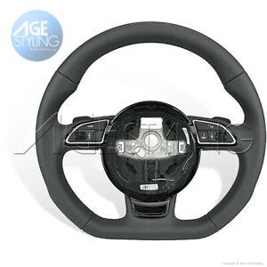 Audi A3 A4 A5 Q3 Q5 Q7 Flat Bottom DSG S-Tronic Steering Wheel # 8K0419091CFINU