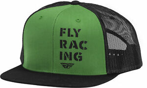 Fly Racing Military Snapback Hat - Green 351-0131