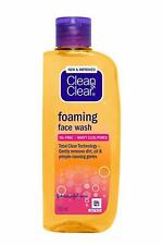 Clean and clear foaming face wash | 150ml free worldwide shipping oily skin