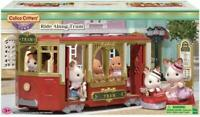 CALICO CRITTERS  RIDE ALONG TRAM VEHICE PLAYSET NEW