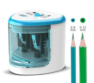 UK NEW Pencil Sharpener Electric Automatic Battery Operated School Stationery