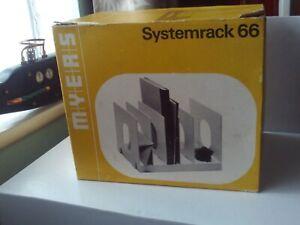 Myers Systemrack 66 - Vintage/Retro Moulded Plastic Storage System Books/Records