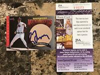 Greg Maddux AUTO 1994 Donruss Mound Marvels 1995 Atlanta Braves Signed HOF JSA