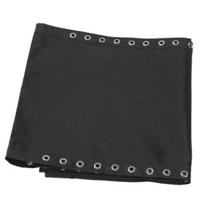 Replacement Fabric Cloth for Foldable Non-Gravity Chairs Sling Chair Black