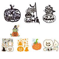 Halloween Pumpkin Metal Cutting Dies Stencil for DIY Scrapbooking Album Cards BI