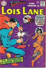 Superman's Girlfriend Lois Lane Comic Book #81, Dc Comics 1968 Fine