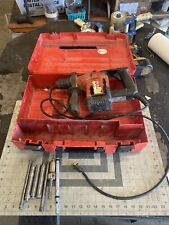 Hilti Te15 Rotary Hammer Drill 115v Bits Amp Case Tested Works Q107