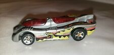 1994 Hot Wheels Power Piston Silver and Red