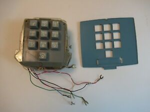 Western Electric 10 button touch tone dial face plate 2500 telephone Antique