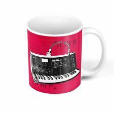 Mug Céramique Vintage Synth Korg Vocoder Synthetizer Analog Pub