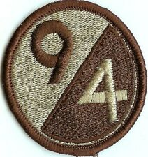 New listing Us Army 94th Infantry Division Military Patch