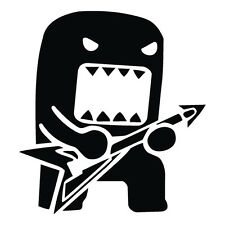 DOMO KUN GUITAR STICKER. JDM DECAL FOR CARS / WINDOW