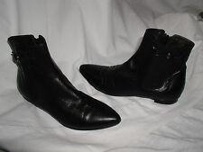 boots bottines ATTILIO GIUSTI LEOMBRUNI cuir noir 36