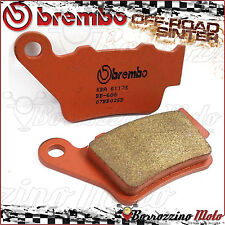 PLAQUETTES FREIN ARRIERE BREMBO FRITTE SD OFF-ROAD CCM 604 RS 600 2001 >