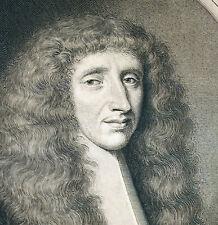 Portrait de Guillaume de Nesmond par Jean Joan Lenfant L'Enfant 1664 gravure