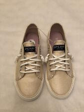 New listing Sperry Top Sider Gold Girls 13