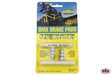 Kool Stop BMX Brake Pads White  - Sold In Pairs