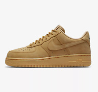 NIKE AIR FORCE 1 '07 LV8 WB - FLAX/BROWN/WHEAT/GUM - AA4061 200 - UK 10, 11, 13