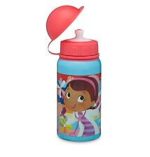 Disney Store Doc McStuffins Aluminum Water Bottle 12oz Kids Girls Drink Cup