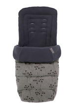 Grey Cosatto Footmuff Luxury Quilted Cosy Toes Washable Hedgerow Design