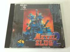 Metal Slug 2 Neo Geo CD SNK Very Good F/S Tested Working DHL Tracking