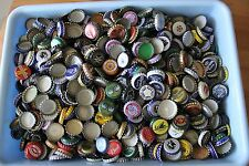 225 RANDOM DOMESTIC BEER CAPS/CROWNS 100+  DIFFERENT KINDS  VINTAGE-OLD-NEW
