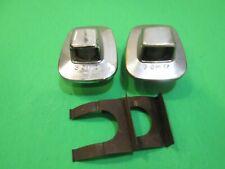95 96 97 98 99 00 License Plate Light Lamp LH & RH Chrome for Chevy GMC, 3 GM IZ