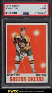 1970 Topps Hockey Bobby Orr #3 PSA 9 MINT