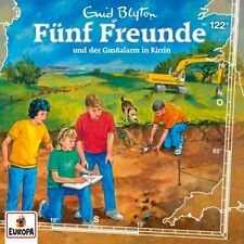 CD * FÜNF FREUNDE - HÖRSPIEL / CD 122 - GROSSALARM IN KIRRIN # NEU OVP =
